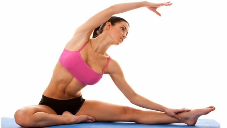 posture yoga minceur