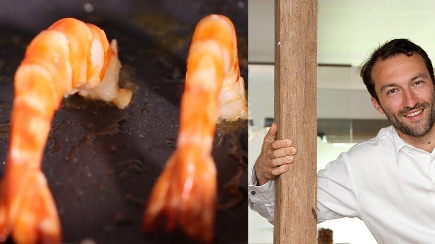 Astuce de chef : comment réussir la cuisson, à la poêle, d'une crevette ou d'une langoustine ?
