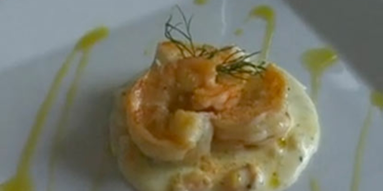 La recette de la brandade de crevettes