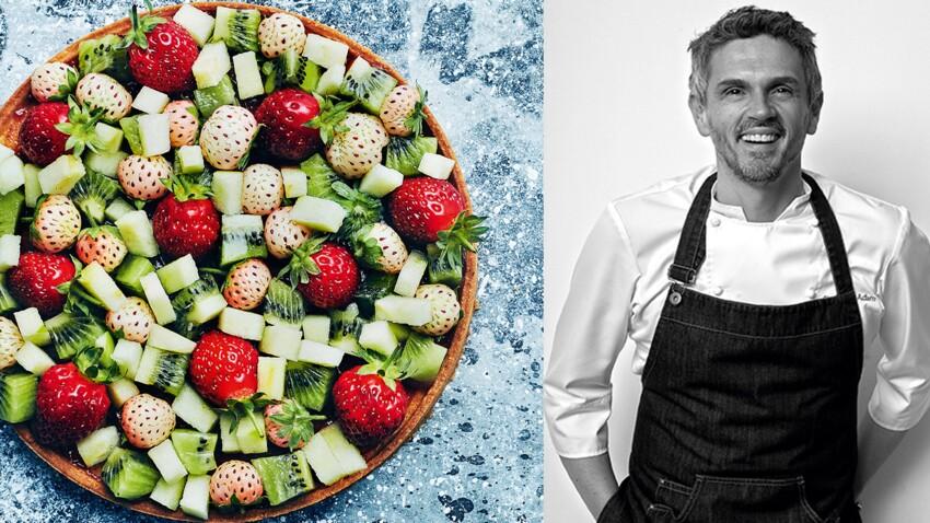 Christophe Adam : 4 recettes aux fraises du chef breton