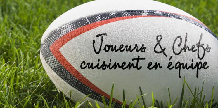 Coupe du Monde de rugby : Joueurs et chefs cuisinent en équipe