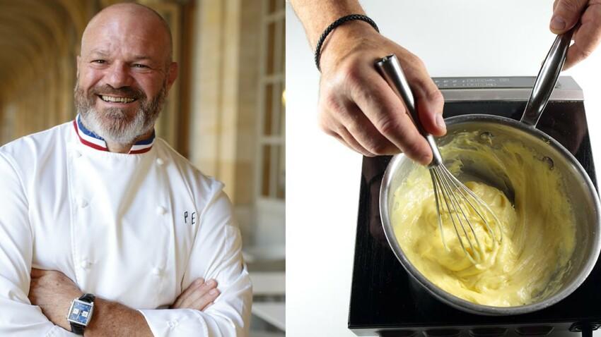 Recette en photos de la crème chiboust par Philippe Etchebest (Cauchemar en cuisine)