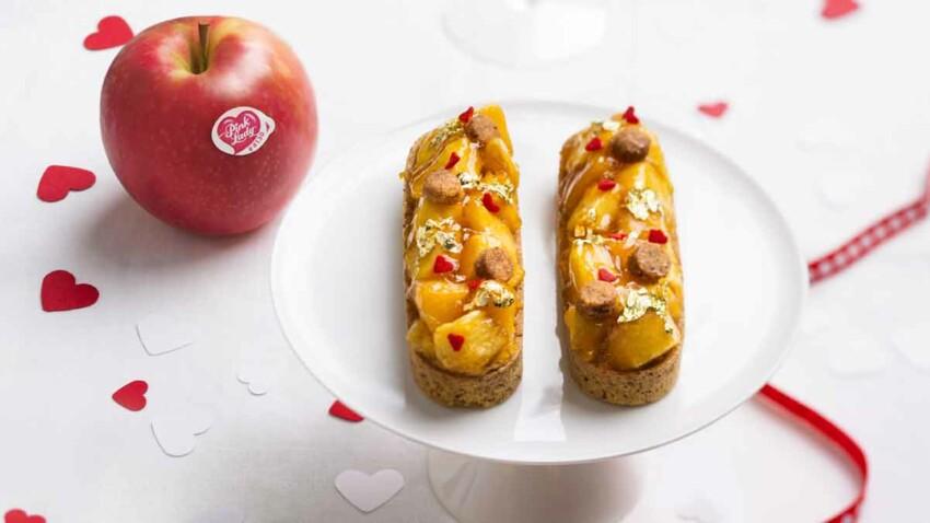 Dessert de Saint-Valentin : la tarte tatin revisitée de Christophe Adam