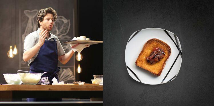 Vidéo : le pain perdu à la figue de Jean Imbert en 14 minutes