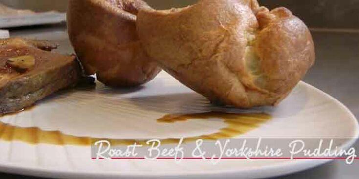 La recette du roast beef et du yorkshire pudding