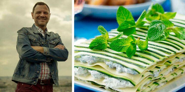 Leçon de chef : la recette des lasagnes de courgettes par Fred Chesneau