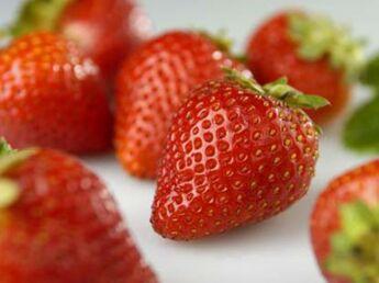 La fraise,  elle a tout pour plaire