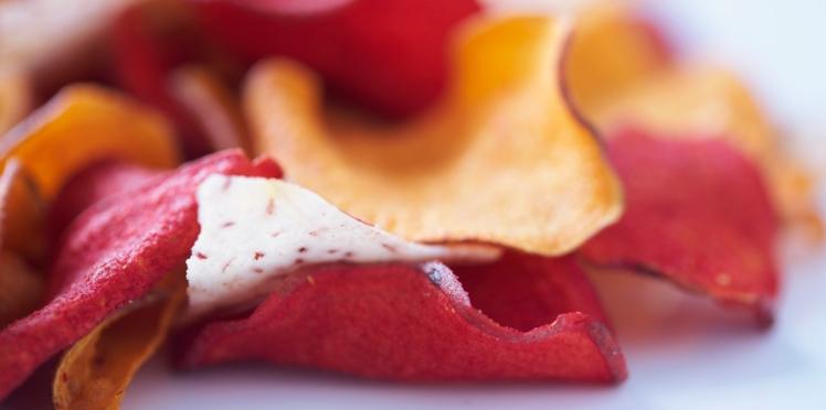 La recette des chips maison en vidéo
