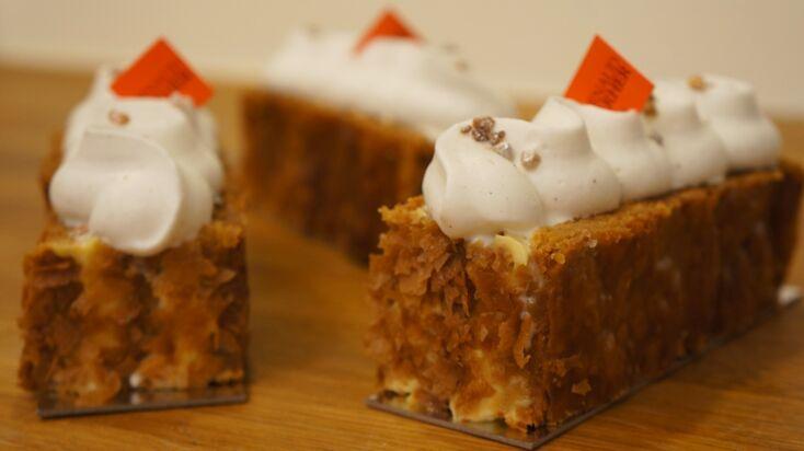 La recette traditionnelle du millefeuille à la vanille en vidéo