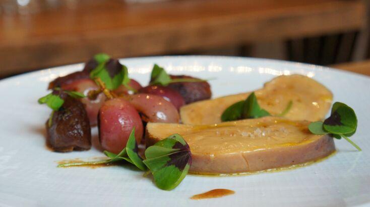 La recette du foie gras poché au vin chaud par Paul-Arthur Berlan