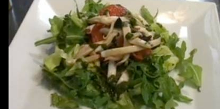 La recette de la salade de calamars