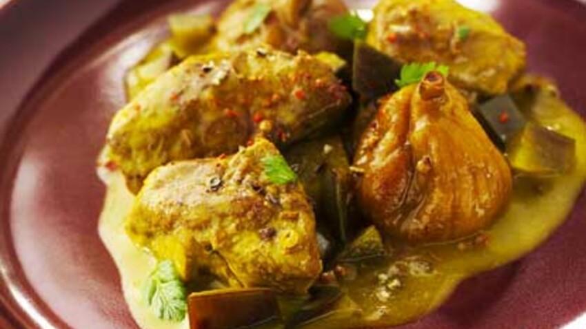La recette du tajine d'agneau aux figues