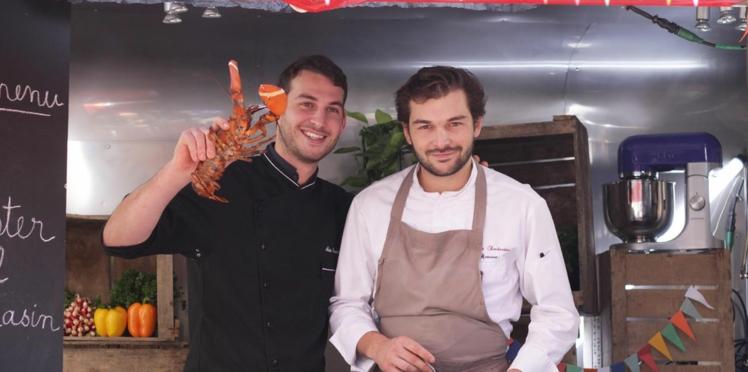 Roulé de homard dans un foodtruck par deux ex top-chef !