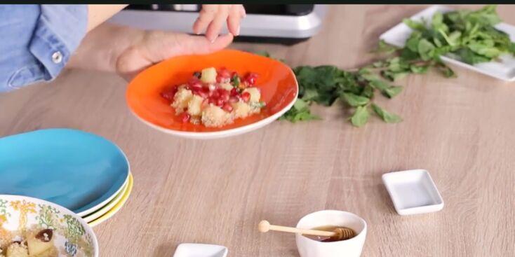 Salade de fruits au quinoa pour un petit-déjeuner équilibré et vitaminé