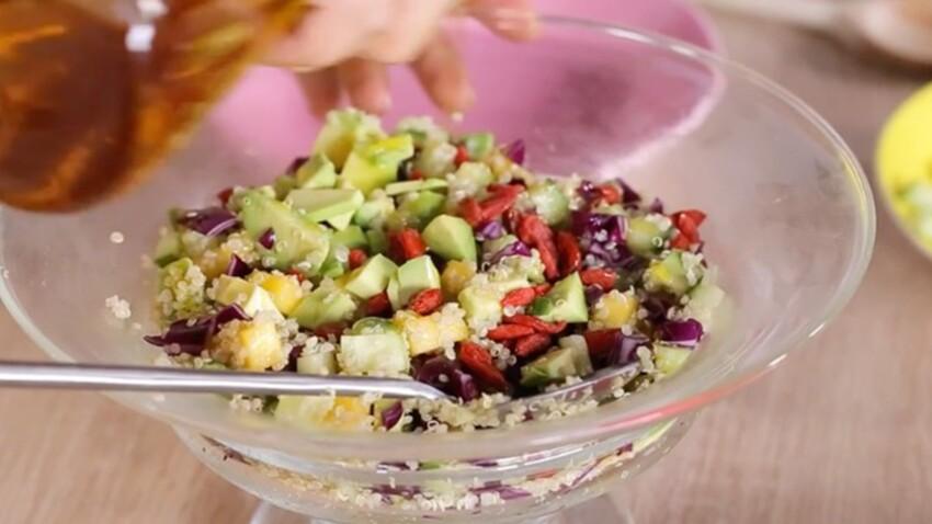 Salade vitaminée au quinoa : une recette gourmande et saine