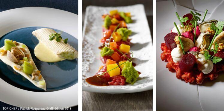Top Chef 2017 : les recettes de Franck, Julien et Jérémie