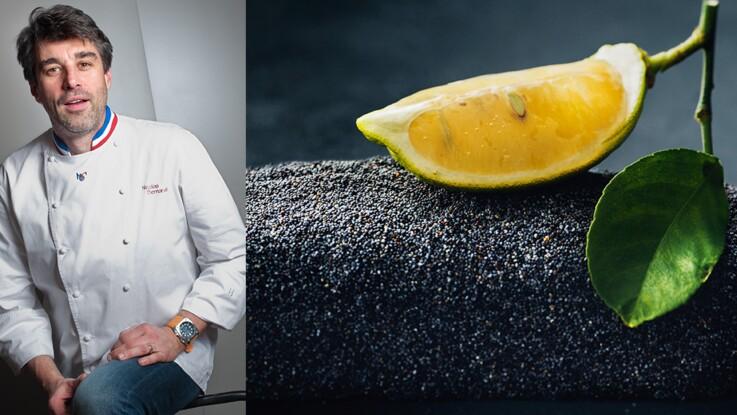 Vidéo : le cake de Noël citron pavot de Nicolas Bernardé