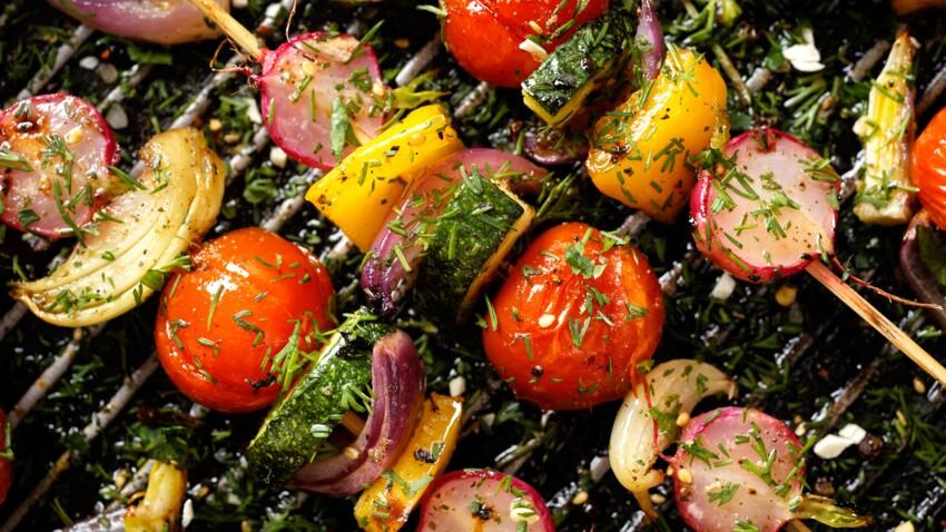 10 légumes à faire cuire au barbecue