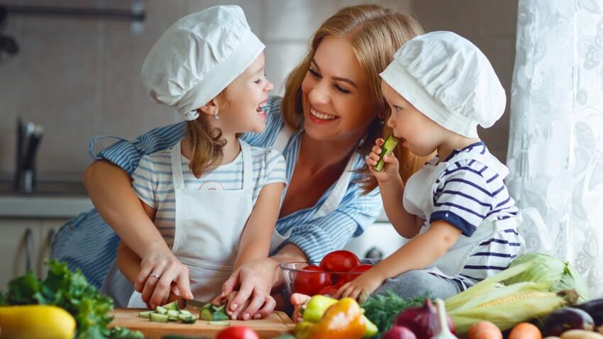 8 astuces pour faire manger des légumes aux enfants