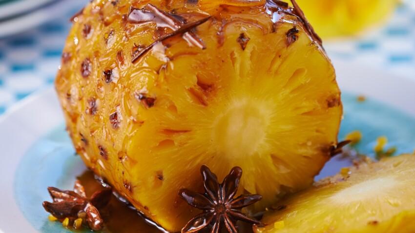 Ananas rôti : nos conseils pour le réussir et nos idées recettes