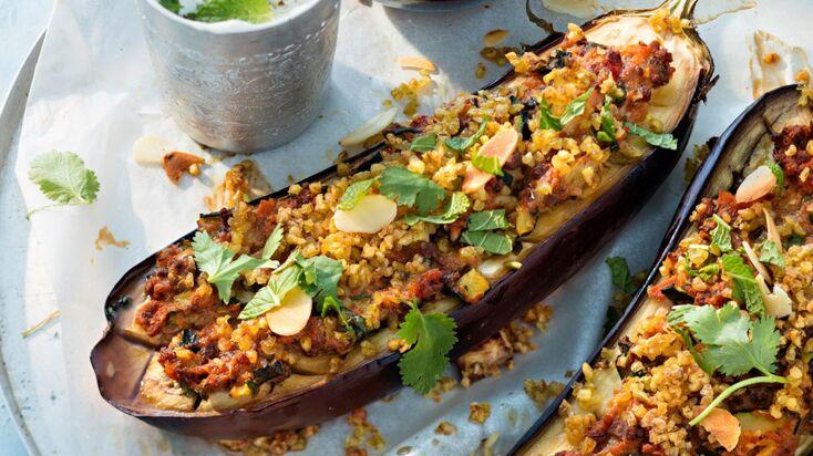 Aubergines farcies au four : 5 recettes faciles et ensoleillées