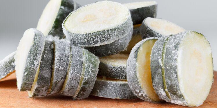 Comment congeler des courgettes crues ?