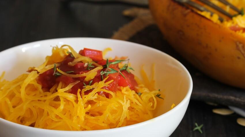 Comment cuisiner la courge spaghetti