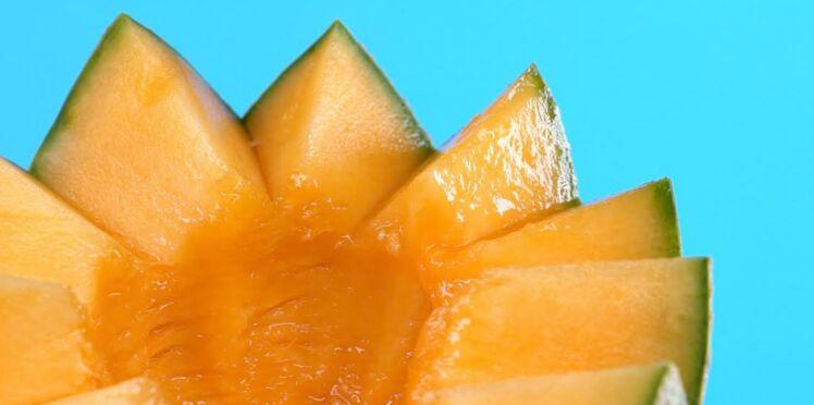Comment découper le melon en dents de loup ?