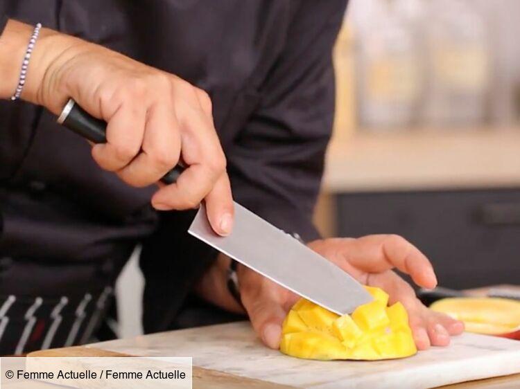 Comment Decouper Une Mangue En Forme De Herisson Femme Actuelle Le Mag