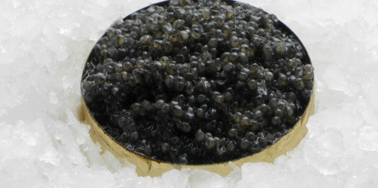 Comment déguster le caviar