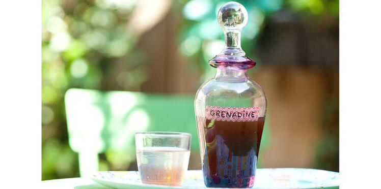 Comment faire du sirop de grenadine