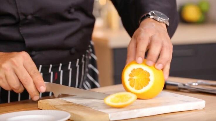 Comment prélever des suprêmes d'orange ?