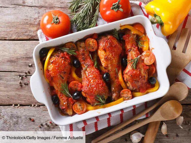 Cuisses De Poulet Aux Olives Découvrez Les Recettes De Cuisine De Femme Actuelle Le Mag