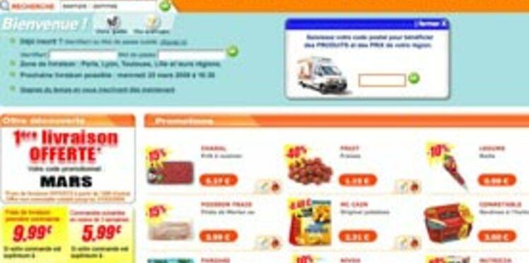 Mes courses en ligne chez Auchandirect