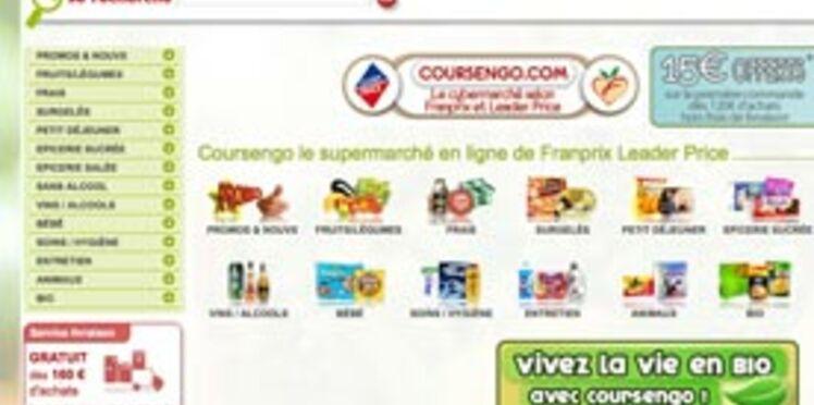 Faire ses courses en ligne avec Coursengo