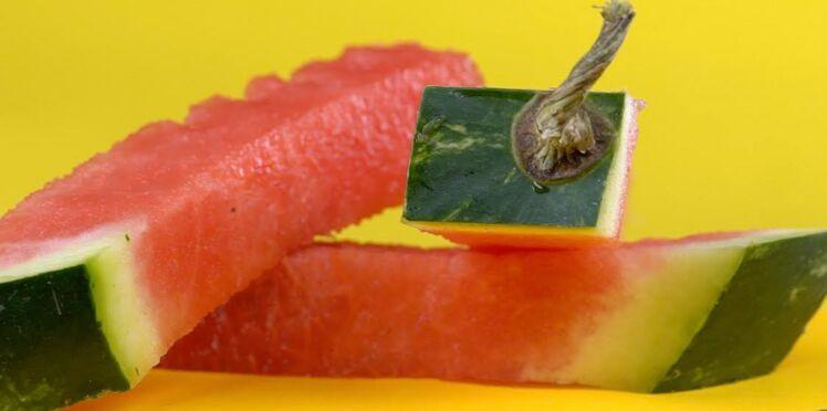 3 façons originales de couper la pastèque