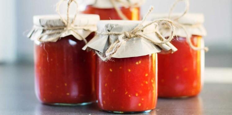 Sauce tomate maison : en coulis, concassée, ketchup …