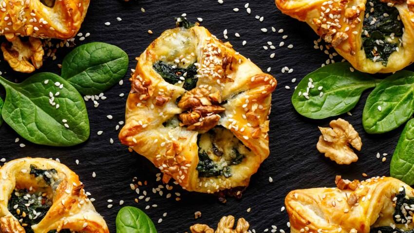 5 choses à faire avec une pâte feuilletée
