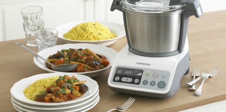 J'ai testé le robot cuiseur multifonction kCook de Kenwood