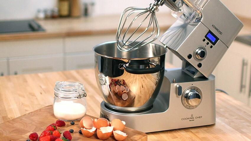 J'ai testé pour vous… le robot pâtissier Kenwood Cooking Chef