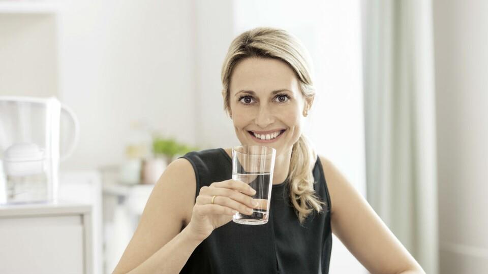Je filtre l'eau grâce à une carafe filtrante