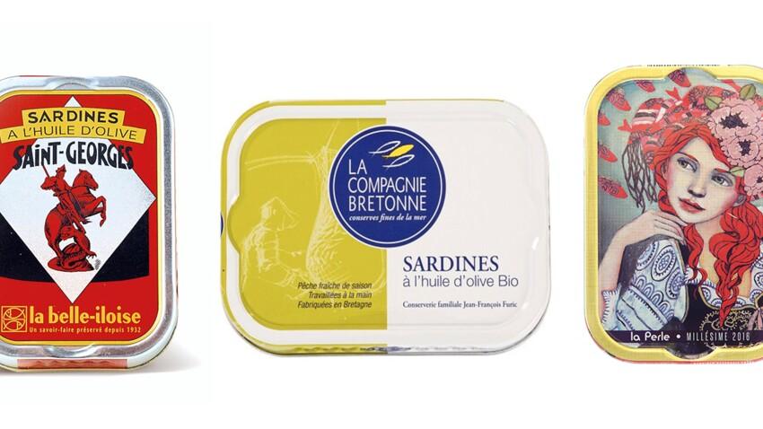 On a testé 6 boîtes de sardines à l'huile