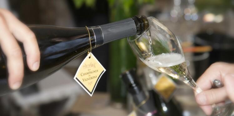 Quelles bouchées avec champagne