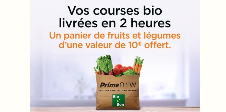 Amazon et Bio c'Bon offrent des paniers de fruits et de légumes aux Parisiens
