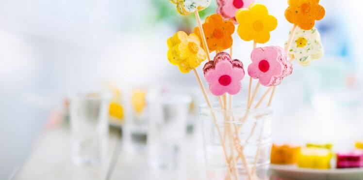 Des petites fleurs à croquer pour fêter les mamans