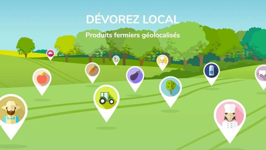 Enfin une appli pour acheter de bons produits locaux !