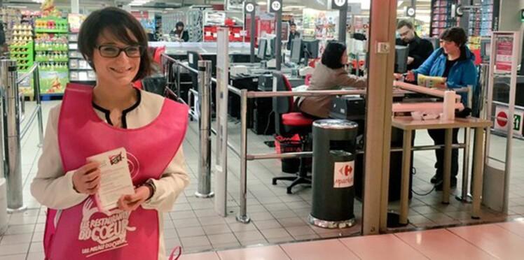 Carrefour organise une collecte nationale au profit des Restos du Cœur