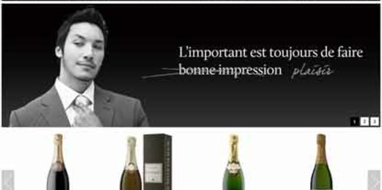 Un site de vente en ligne exclusivement dédié au champagne