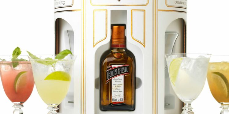 Cocktails de fête en amoureux