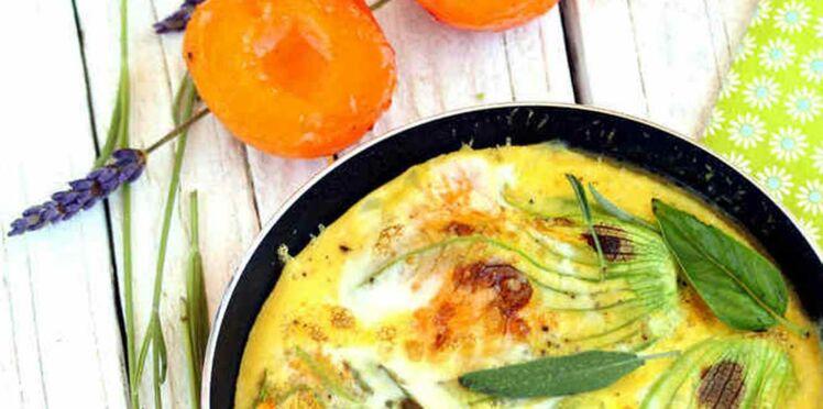 Coup de coeur blog : l'omelette aux fleurs de courgette